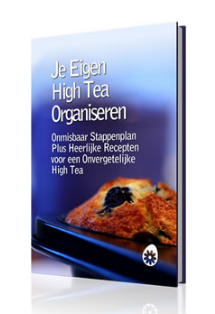high tea party organiseren